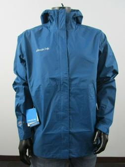 NWT Mens Columbia XL-XXL Gable Pass Waterproof Hooded Rain J