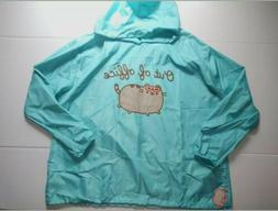 NWT Pusheen Box Spring 2019 Out Of Office Rain Jacket 3XL Ho