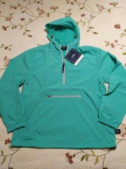NWT CHARLES RIVER Apparel Sz S Unisex Mint Pack N Go Pullove