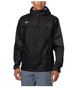 NWT The North Face Men's Resolve Rain Jacket Water Proof Bla