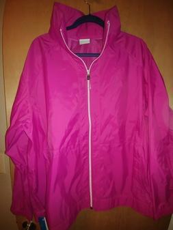 NWT Columbia Women't Rain Jacket 3X