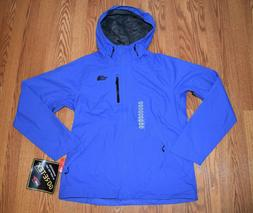 NWT Womens The North Face Blue Windbreaker Dryzzle Rain Jack