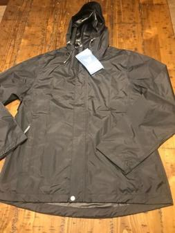 NWT White Sierra Womens Rain Jacket Windbreaker Hooded Size