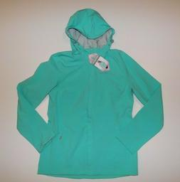 NWT Womens FREE COUNTRY Seafoam Green Windbreaker Waterproof
