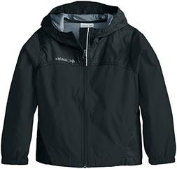 NWT Columbia Boy's Youth Glennaker Rain Jacket - Black - You