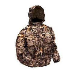 Frogg Toggs PA63102-55MD Pro Action Camo Jacket Maxr XL-RT,