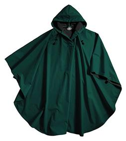 Charles River Apparel Pacific Rain Poncho, Forest, One Size
