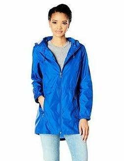 Calvin Klein Packable Rain Jacket Blu Size XL