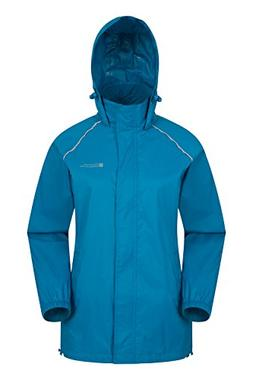 Mountain Warehouse Pakka Womens Waterproof Packable Rain Jac