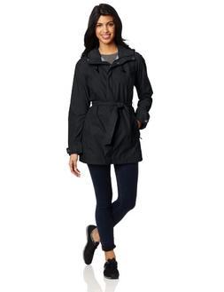 Columbia Pardon My Trench Rain Jacket - Women's Black, S