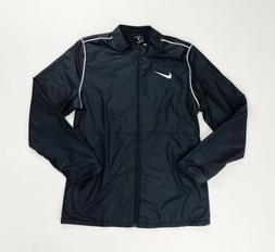 Nike Park 20 Rain Jacket Full Zip Soccer Women's Medium Blac