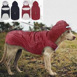 Pet Large Dog Raincoat Waterproof Big Dog Clothes Outdoor Co