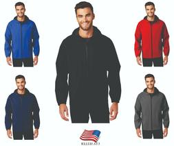 Port Authority Waterproof  Windproof Rain Jacket  Coat Hood
