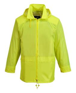 Portwest Classic Rain Jacket, Small to XXL, 3 colours - Yell