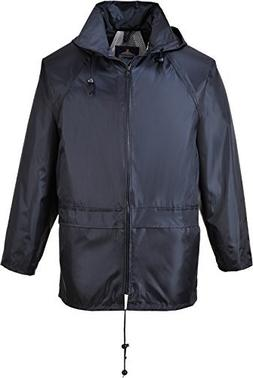 Portwest Men's Classic Rain Jacket 3XL Chest 54 55in Navy, N