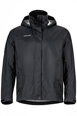 Marmot Men's PreCip® Jacket, Large, BLACK