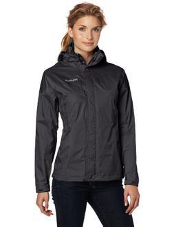 Marmot PreCip Women's Lightweight Waterproof Rain Jacket, Bl