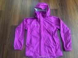 Marmot Precip Large Womens Rain Jacket Hood Sealed Seams Lig