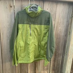 Marmot Precip Rain Jacket Green Men's Medium M