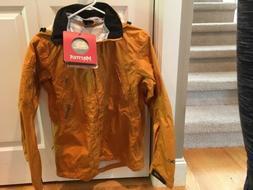 Marmot PreCipPlus Oracle Rain Jacket - Womens Small - Amber