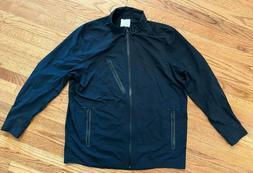 Nike Rain Collared Jacket Men's Size XL Black Waterproof Out