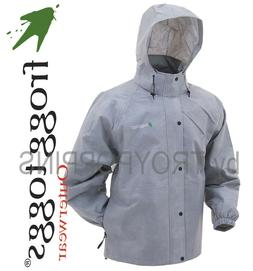 FROGG TOGGS RAIN GEAR-PA63123-07 GRAY PRO ACTION MENS JACKET