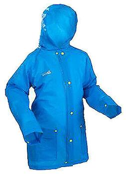 Rain Jacket, Small To Medium, Youth, Blue