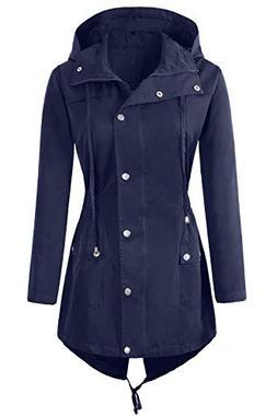BBX Lephsnt Rain Jacket Women Waterproof with Hood Lightweig
