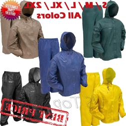 Frogg Toggs Rain Suit Ultra Lite Jacket Pants Waterproof Fis