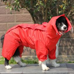 Raincoat Clothes Pet Hooded Waterproof Raincoats Coat Jacket