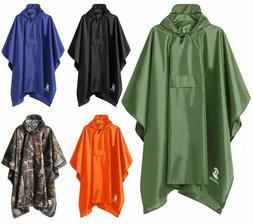 Raincoat Jacket Adults Durable Clothing Women Men Rain Water