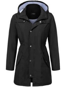 SoTeer Raincoat Waterproof Lightweight Rain Jacket Active Ou