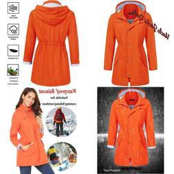 Soteer Raincoat Womens Lightweight Hooded Waterproof Active
