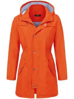 SoTeer Raincoats Waterproof Lightweight Rain Jacket Active O