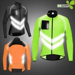 WOSAWE Reflective Cycling <font><b>Jackets</b></font> Men Br