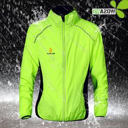 WOSAWE Reflective Water Repellent Cycling Jackets <font><b>5