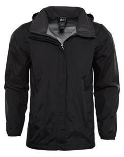 The North Face Kids Boy's Resolve Reflective Jacket  TNF Bla