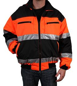Safety Depot Reversible Jacket Class 2 ANSI Approved, Water