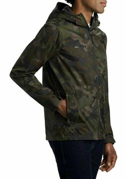 Columbia Roan Mountain Camo Mens Waterproof Full Zip Jacket