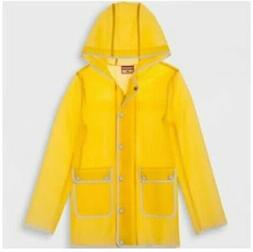 Hunter For Target's Girls Water Resistant Rain Jacket, Yello