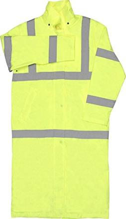 ERB Safety 62031 S163 Class 3 Long Rain Coat Safety Vests, 2