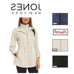 SALE! Jones New York Ladies' Packable Rain Jacket Coat - VAR