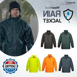 Portwest Sealtex Mens Waterproof Zipped Hooded Breathable Ra