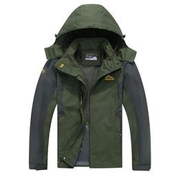 Kolongvangie Ski Jackets Outdoor Sports Detachable Hooded Mo