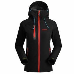 softshell jacket women waterproof rain coat hiking