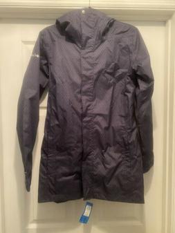 Columbia Splash-A-Little II Omnitech Womens Rain Jacket ! Ne