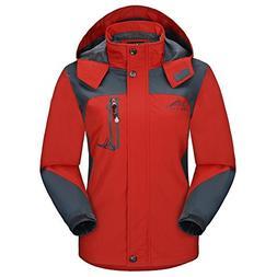 Diamond Candy Sportswear Women's Hooded Softshell Raincoat W