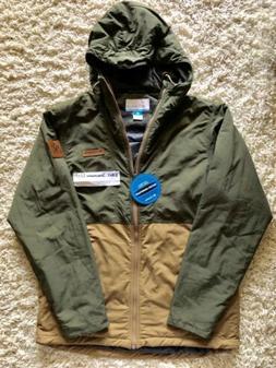Columbia Sportswear Men Hazen Jacket Sz M Winter Rain Wind W