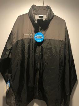 Columbia Sportswear Mens Waterproof Rain Jacket Packable Hoo
