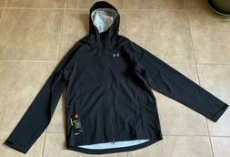 storm rain jacket zip up w hood
